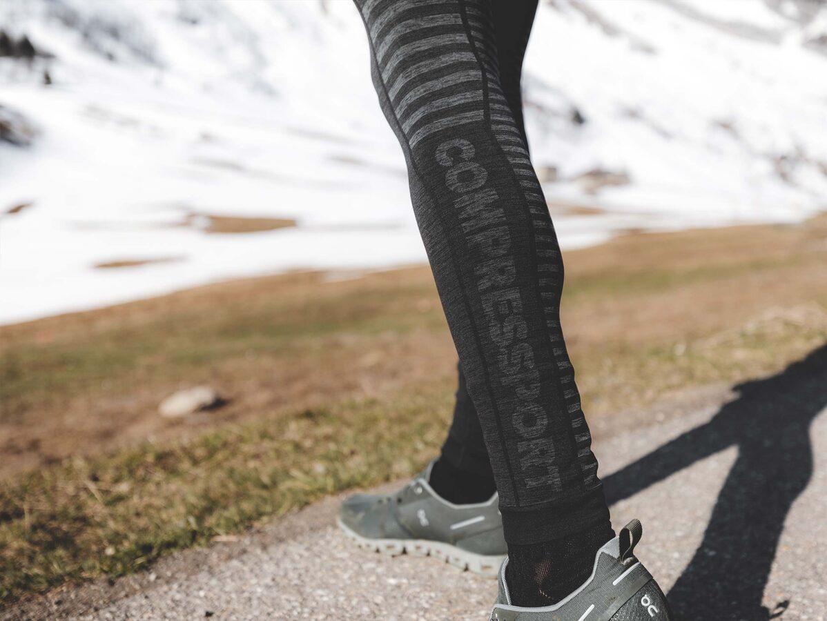 Vīriešu ziemas skriešanas bikses Winter Run Legging M