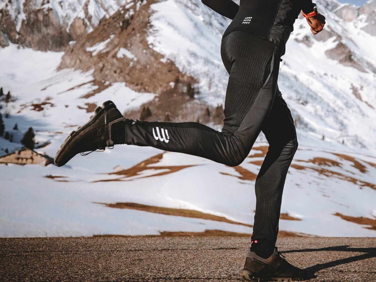 Taku skriešanas hibrīdbikses Hybrid Seamless Hurricane Pants