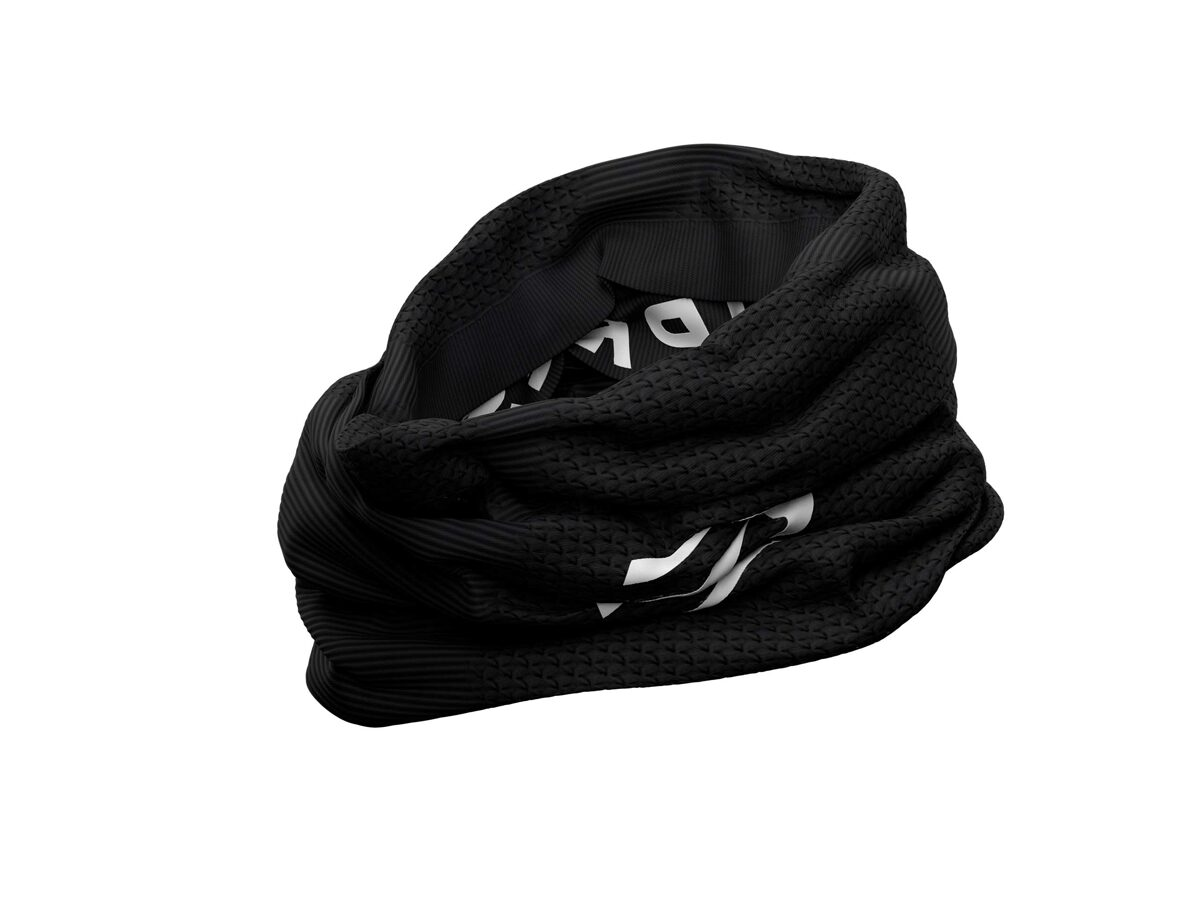 Sporta apaļšalle Compressport UltraLight Headtube, melna