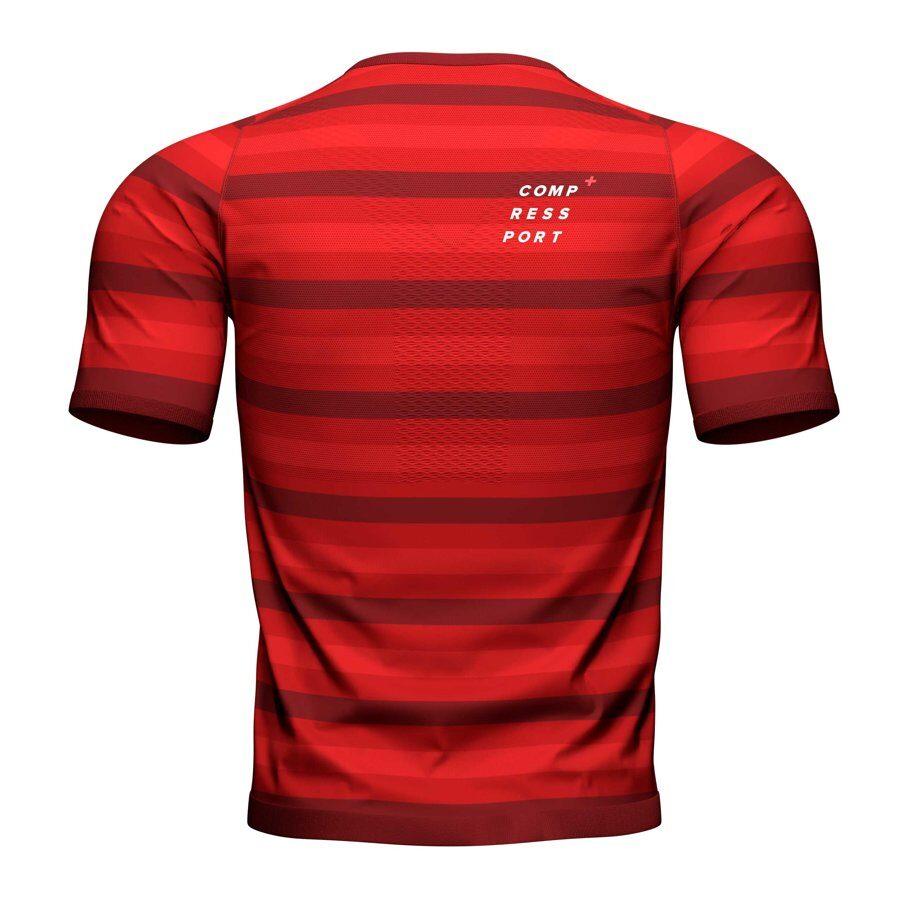 Šosejas skriešanas krekls Compressport Performance SS Tshirt