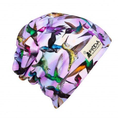 Brīvā laika Frida Hats cepure, Putni galvā