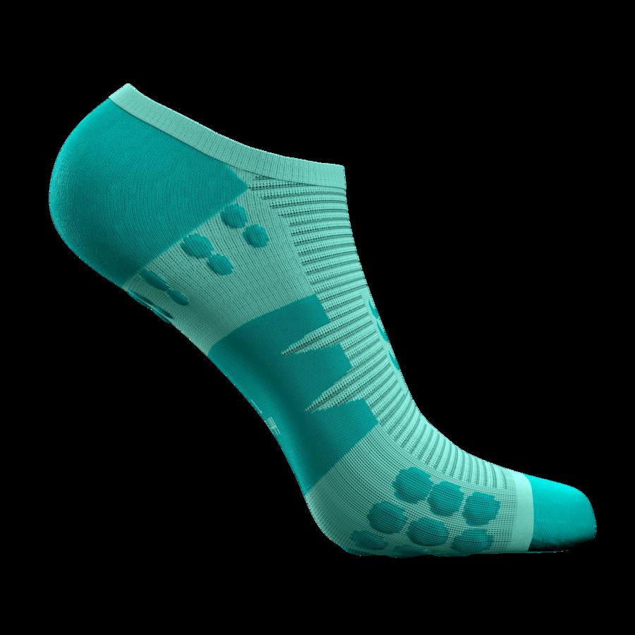 Neredzamās skriešanas zeķes Compressport No Show Socks Limited Edition, Opal