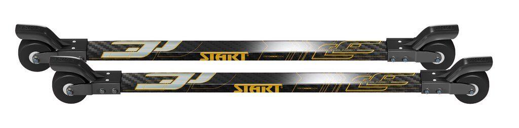 Start Carbon Classic klasiskās tehnikas rollerslēpes