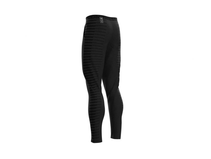 Sporta bikses Compressport Seamless Pants, melnas