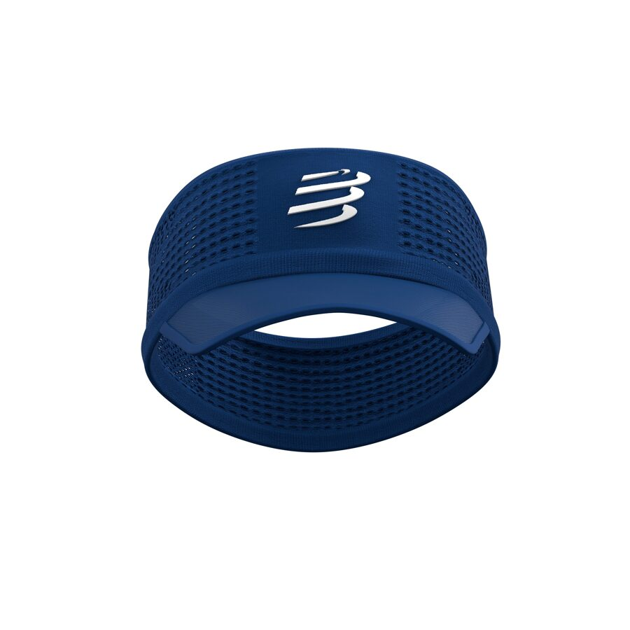 Hibrīdnadziņš Compressport Spiderweb Headband, Blue Lolite zils