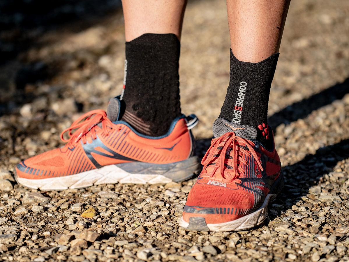 Sporta zeķes taku skriešanai Compressport PRS V3 Trail