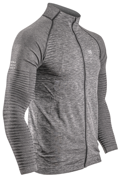 Sporta jaka Compressport Seamless Zip Sweatshirt