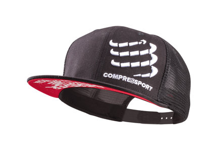 Melna cepure Compressport Trucker Cap