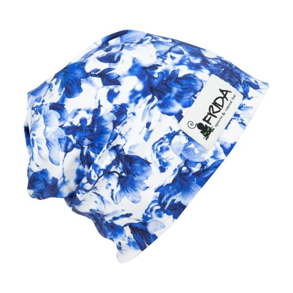 Frida Hats cepure Zili akavareļa ziedi