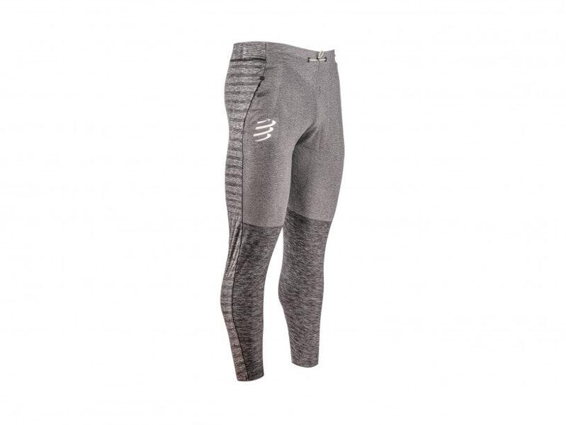 Sporta bikses Compressport Seamless Pants, pelēkas