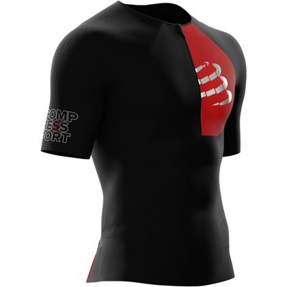 Triatlona krekls Compressport Tri Aero Top SS